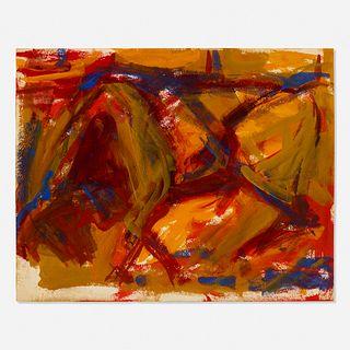 Elaine de Kooning, Untitled (Bull)