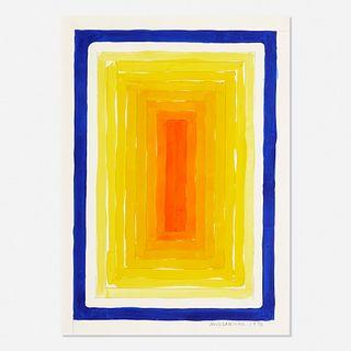 Richard Anuszkiewicz, Yellowing Red Portal