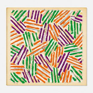 Jasper Johns, Untitled (ULAE S 13)