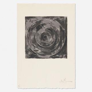 Jasper Johns, Target from the For Meyer Shapiro portfolio