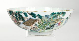 Fine Chinese Famille Rose Porcelain Bowl
