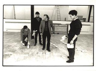 Armin Linke (1966)  - Jannis Kounellis, Verso l'Arte Povera, PAC Milano, 1980