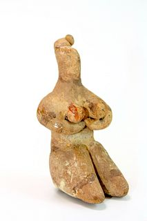 Ancient Tell Halaf Mother goddess Idol c.6100-5100 BC.