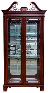 Jasper Cabinet Federal Style Mahogany Curio Cabinet