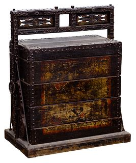 Asian Style Stackable Marriage Chest