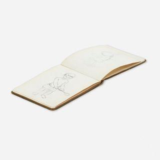 Franz Kline, Sketchbook (from London)