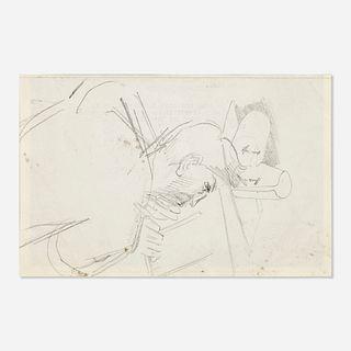 Sir Stanley Spencer, Untitled (sketch of a man)