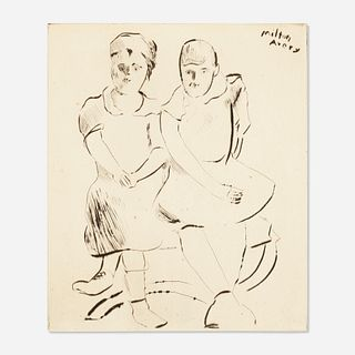 Milton Avery, Helen and Lily