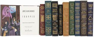 Obras de Ciencia Ficción Firmadas. Signed Collector's Edition. Norwalk, Connecticut: The Easton Press, 1995 - 2008. Piezas: 10.