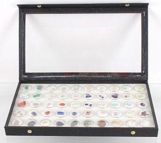 Precious Gemstone Collection in Collector Case