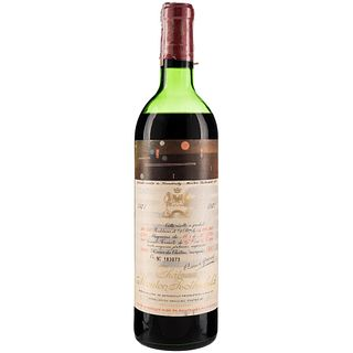 Château Mouton Rothschild. 1971. Pauillac. Label designed by Wassily Kandinsky.