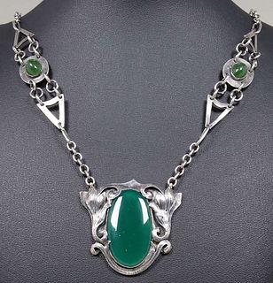 Art Silver Shop - Chicago Sterling Silver & Chrysoprase