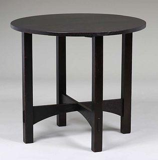 Gustav Stickley - Harvey Ellis Designed Lamp Table