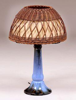 Fulper Pottery Lamp