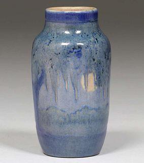 Newcomb College High Glaze Scenic Anne Frances Simpson