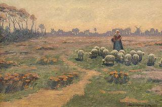 Wellington Reynolds Painting Dutch Painting c1910