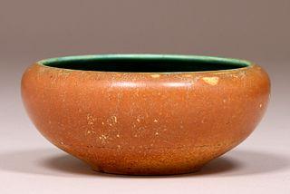 Rookwood Matte Brown & Green Bowl 1901