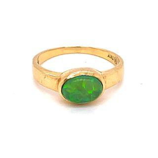 Victorian Opal 18k Ring