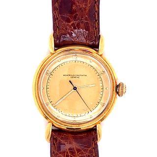 Vacheron & Constantin 18k Pink Gold WristWatch