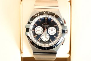 Omega Constellation Chronograph Men's Watch w/Box