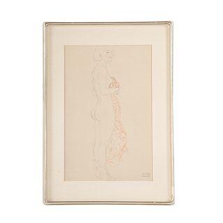 Gustav Klimt. Figure Study II