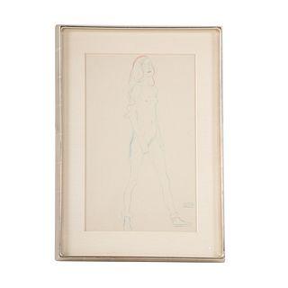 Gustav Klimt. Figure Study III