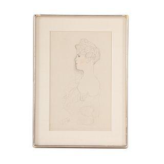 Gustav Klimt. Figure Study IV