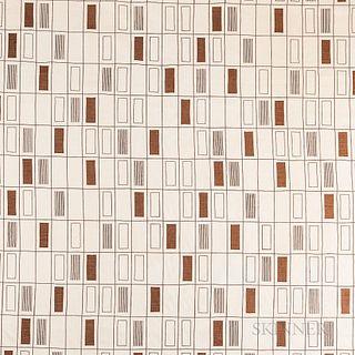 Five Angelo Testa (American, 1921-1984) Textiles