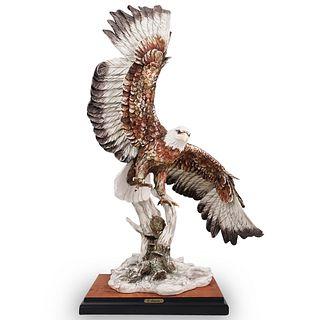"Giuseppe Armani ""Bald Eagle"" Porcelain Sculpture"