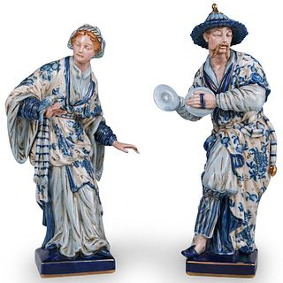 Pair Of Sevres Porcelain Figurines