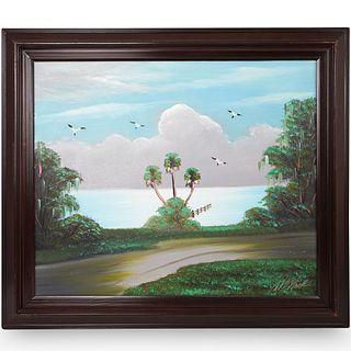 Florida Highwaymen Painting By Al Black