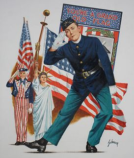 Harry Schaare (1922-2008) You're a Grand Old Flag
