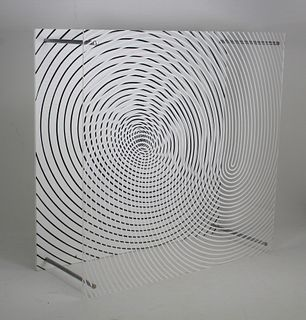 "Jesus Soto ""Espiral Doble Series Sintesis, 1979"""