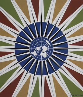 "Erik Nitsche (1908 - 1998) ""United Nations"""