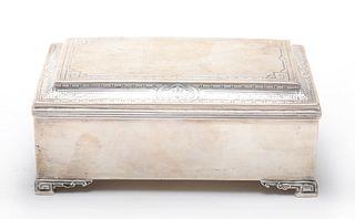 Lebkuecher & Co. Sterling Silver Dresser Box