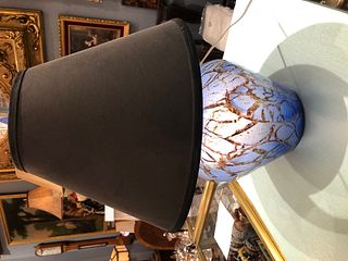 WMF IKora German Art Deco Glass Lamp