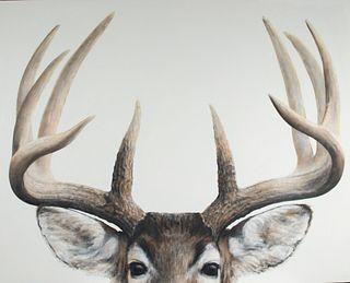 David Allen (b. 1960) Deer Head #1