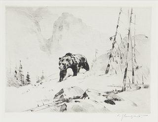 Carl Rungius (1869-1959) Lord of the Canyon