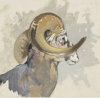 George Browne (1918-1958)  Big Horn Ram