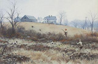 Aiden Lassell Ripley (1896-1969) Pheasants Near the Old Farm