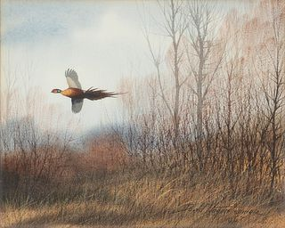 David A. Hagerbaumer (1921-2014)  Two Watercolors