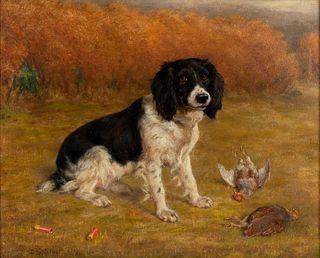 David George Steell (British, 1856-1930) Tiny of Skipton