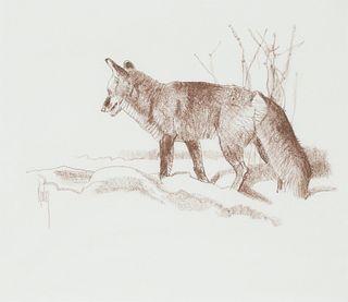 Bob Kuhn (1920-2007)  Red Fox
