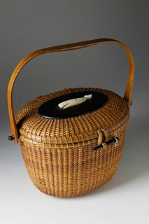 José Formoso Reyes (1902-1980) Friendship Basket, circa 1960