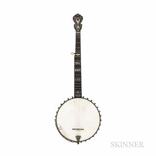 Dobson Victor Regal Five-string Banjo, c. 1890