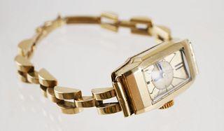 OMEGA 14k Gold Art Deco Ladies Watch