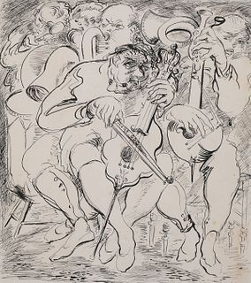 Gulliver's Travels, Expressionists Drawing