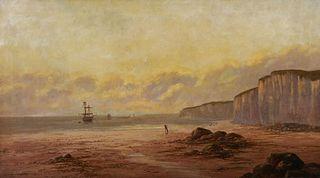 SIDNEY YATES JOHNSON, 19thC O/C, Coastal Scene