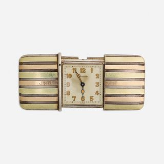 Drecier, Gold and silver ermeto watch
