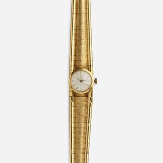 Cyma SA, Lady's gold wristwatch